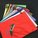 Satin Footwear Courier Bags