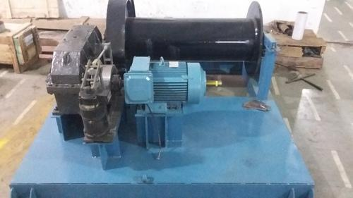 Ms Engineers Electric Winch Machine, Capacity: 0-5 Ton