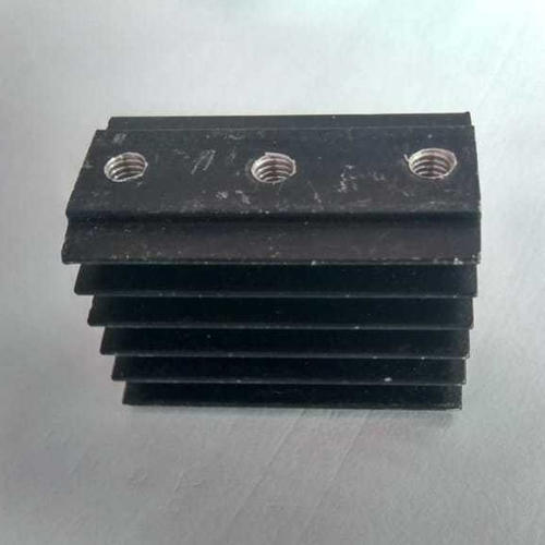 Black Copper Electric Heat Sink, Packaging Size: Box