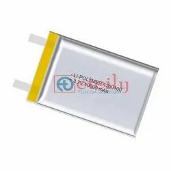 10000 mAh 3.7 V Li-Polymer Battery Cell