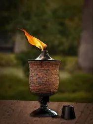 Mosaic Tulip Garden Torch