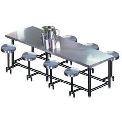 Pride Stainless Steel School Canteen Table