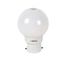 0.5 W Oreva Eco LED Round Shape Bulb, Temperature : 20 Degreec To 50 Degreec