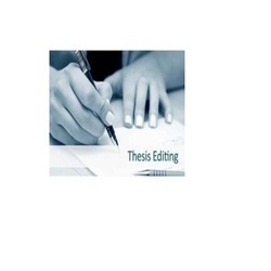 Thesis Editing Services Consultancy
