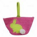 伊萨罗粉红色设计黄麻袋