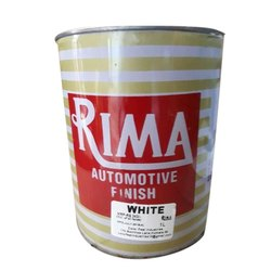 High Gloss Water Based Paint Rima White Automotive Paint, Packaging Size: 1l, Also Available In 4, 20 L, Liquid