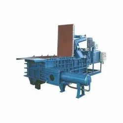 Double Action Scrap Baling Machine