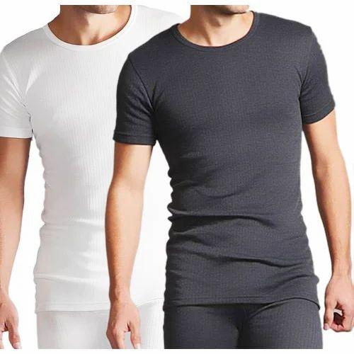 e5b08ba83 White And Grey L And XL Mens Winter Half Sleeves Warmer