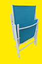 Folding Reclining Chair-7 Stage-Elegent-2 Fold-Blue