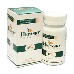Hepasky Medicine, Packaging Type: 60 Tablets