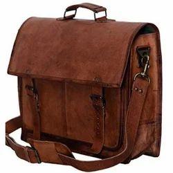 Shoulder Bag Vintage Leather Laptop Bags, Size: 12x16