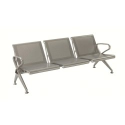 Three Seater Waiting Area Chair