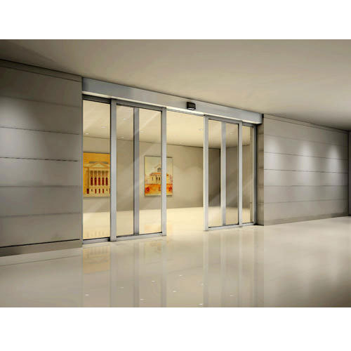 Glass And Aluminum Automatic Sliding Door Rs 130000 Piece Id