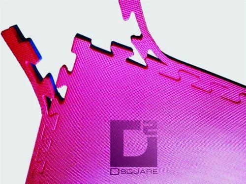 Red, Blue Kabaddi Interlocking Mat, Mat Size: 1 X 2 Mtr
