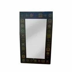 Rectangular 5 X 3 Feet Solid Shesham Wooden Mirror Frame
