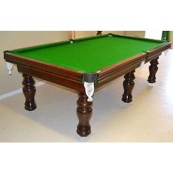 Antique Brown Billiard Tables 6 Legs