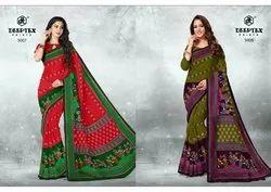 Deeptex Prints Kalamkari Special Vol 5 Pure Cotton Saree