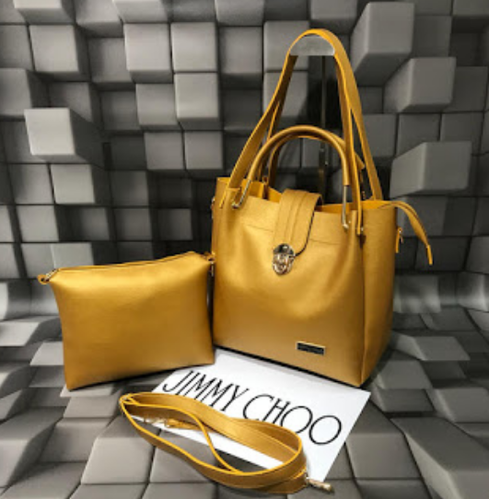 ce8c0a5e22a Jimmy Choo Handbag Gold Color at Rs 1050 /piece | Women Hand Bags ...