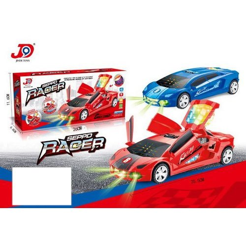 Multicolor Plastic Speed Car Toy, Packaging Type: Box