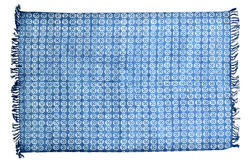 Indigo Blue Handmade Cotton Rugs