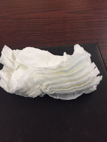 White Wet Tissue Waste For Hand Cleaning