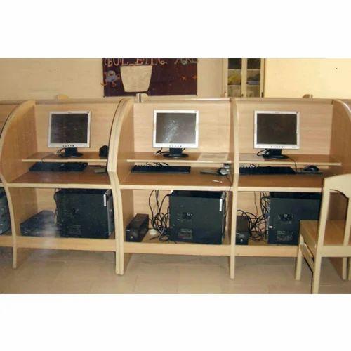 Wooden Computer Workstation