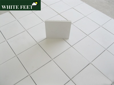 White Feet Cooling Roof Tiles Thickness 15mm Rs 25