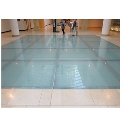 Laminated Glass Flooring