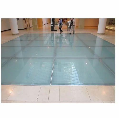 Laminated Glass Flooring Health Care, Laminated Glass Flooring