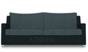 Adorn India Modern Straight Line Sofa Set(Grey & Black)