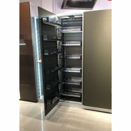 Plywood Modern Matt Finish Modular Kitchen Pantry Rs 40000 Unit Id 20516968388