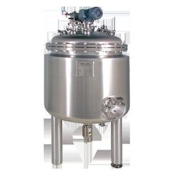 Polished Stainless Steel Chemical Reactor