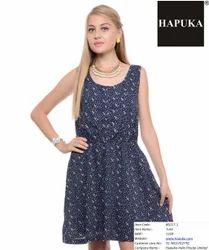 Cotton Designer Ladies Dress, Size: S, M & L