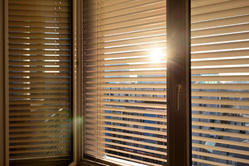 PVC Brown Venetian Blinds