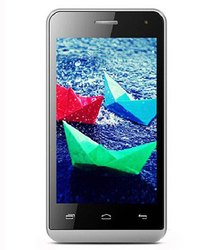 Black Micromax Bolt Q324 (Blue, 512MB RAM, 4GB), Android V4.4.2 KitKat