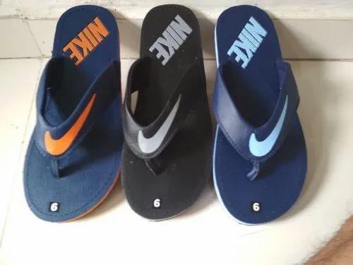 70ba425b9 Manufacturer of Nike Casual Slippers   Men Fancy Slippers by Pramukh  Enterprise