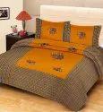 Gajraj Print Cotton Double Bed Sheet