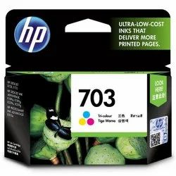 HP Deskjet 703 Tri-color Original Ink Cartridge