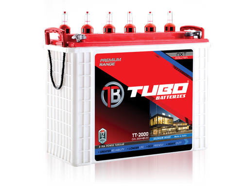 Long Cycle Life Lead Acid Tall Tubular Battery