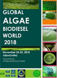 Global Algae Biodiesel World 2018