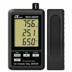 Co2 /Humidity Temp. Monitor Lutron Mch-383sd
