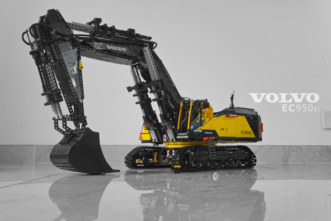 volvo ec140d l ec140dl excavator service repair manual instant download