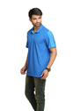 Adidas Men's Royal Blue Polo T-Shirt