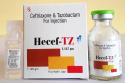Tazobactam 1.125 gm  Injection