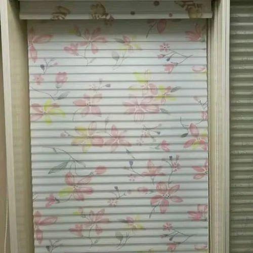 Vertical Creative Interior PVC Printed Window Blinds