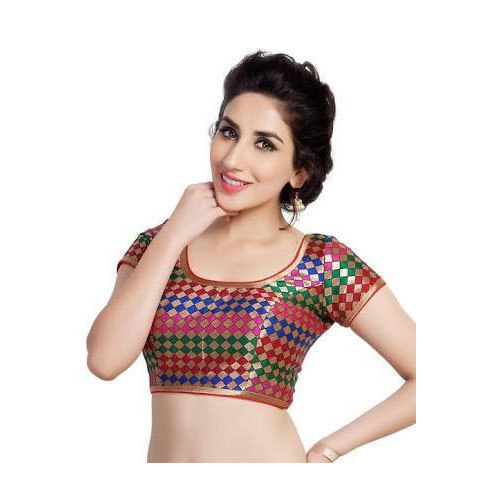 0f6ad0ff513db0 Multicolor Half Sleeves Blouse at Rs 90 /piece | छोटी ...