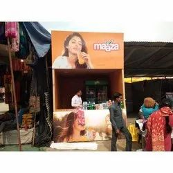 Maaza Branding Stall, For Promotion