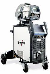 Titan XQ 400 AC puls DW MIG Welding Machine