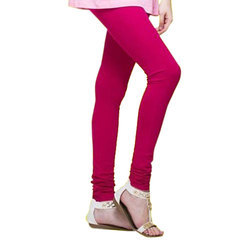 Plain Churidar Leggings, Size: Free Size And 3XL