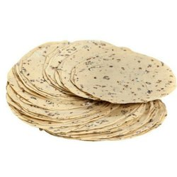 Round Garlic Papad, Size: Medium